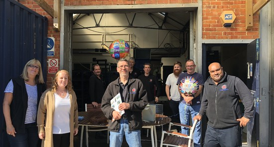 Happy Retirement To Our Despatch Manager