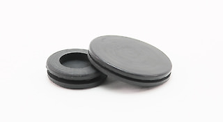 Semi Blind Rubber Grommets